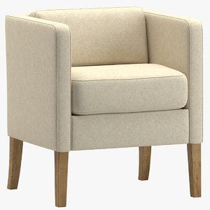 3D chair 158 model