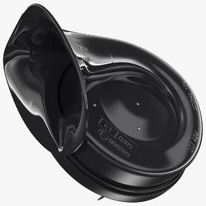 3D electric snail car horn