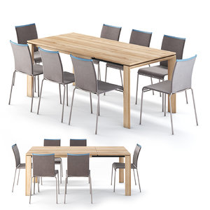3D calligaris omnia dining table