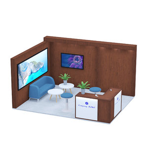 3D exposition stand