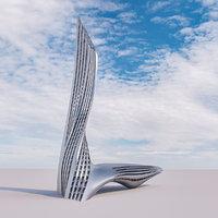 Futuristic building 21