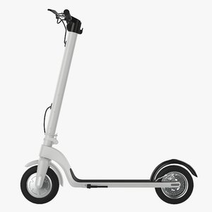 3D electric scooter model