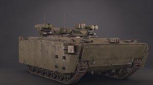 russian vehicle 3D model
