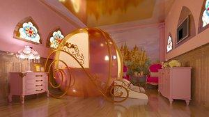 s room princess 3D