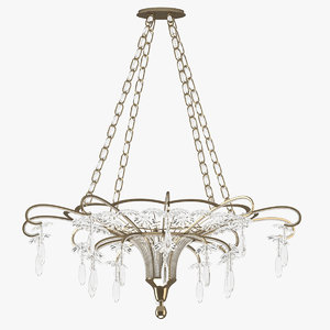 chandelier 02 3D model
