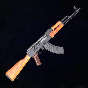 kalashnikov assault rifle model