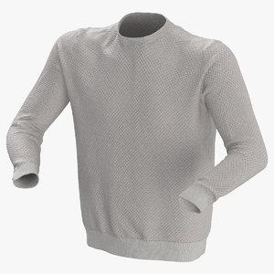 3D model male shirt 01
