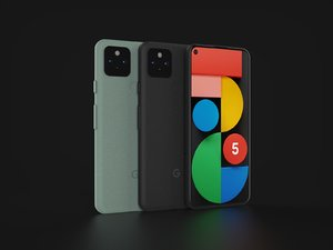 3D google pixel 5 xl model