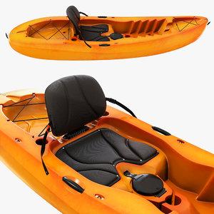kayaking boat model