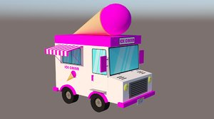 cream van 3D