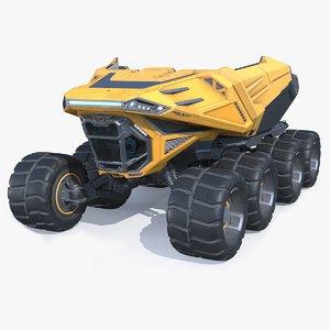 concept dump 3D model