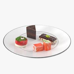 3D set cake