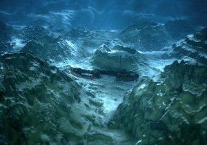 depths ocean 3D model