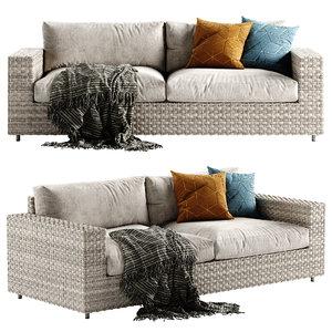 outdoor sofa 3D
