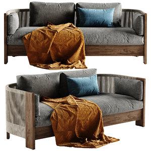 porto sofa 3D model