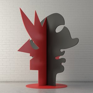 3D custom public sculpture