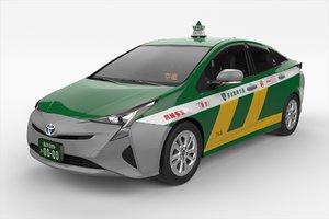 3D japanese taxi
