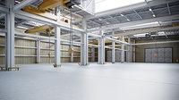 Factory Warehouse Interior - Exterior