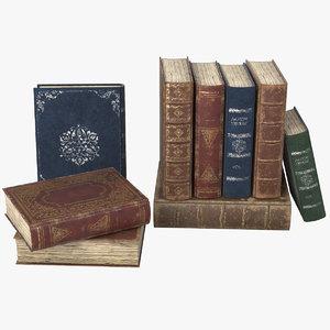 3D pbr book model