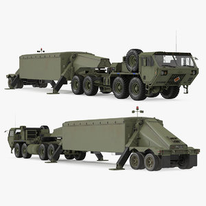 tractor m983 thaad tpy2 3D model