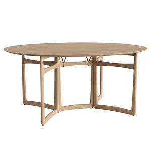 3D model drop leaf table