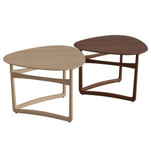 3D lounge table drop leaf