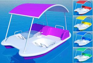 water park boat model