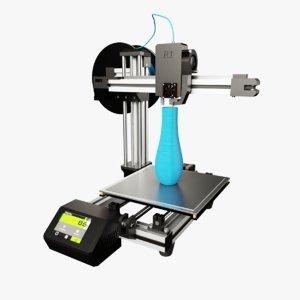 3D model custom printer
