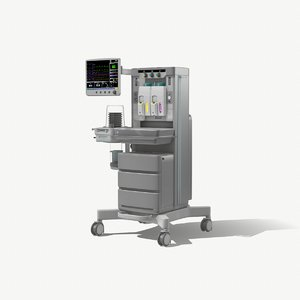 anesthesia machine 3D model