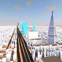 Riyadh City Sep 2020 3d model