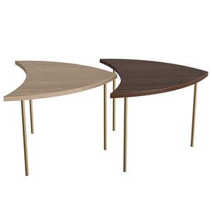 pinwheel table 3D model