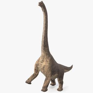 3D brachiosaurus altithorax model