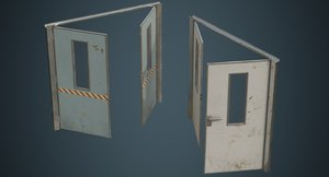 3D industrial door 1b
