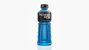 3D powerade bottle