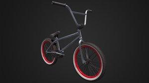 3D model bmx wheel