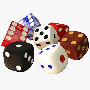 3D dice games casino