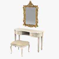 Camelgroup Siena Avorio Console Table Set