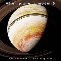 Alien planet - model 6