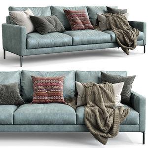 3D interface sofa luca