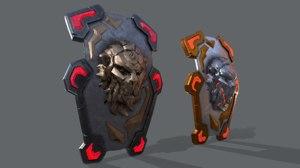 3D xx shield