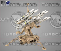 Hawk Missile Launcher Cartoon