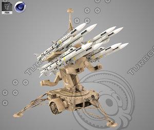 3D hawk missile launcher
