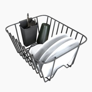 3D dish rack