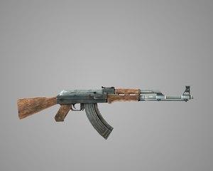 weapon rifle shotgun 3D model