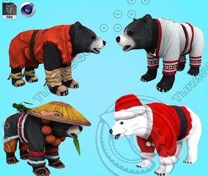 bear 3D
