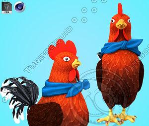 chicken 3D