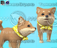 Husky Dog Cartoon