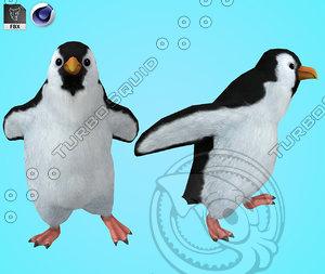 3D penguin