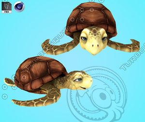 turtle sea 3D