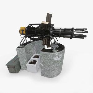 3D gun assembled salvaged